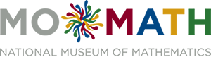 Logo for the National Museum of Mathematics