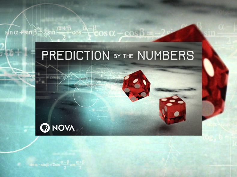 "Dice with ""PREDICTION by the NUMBERS"""