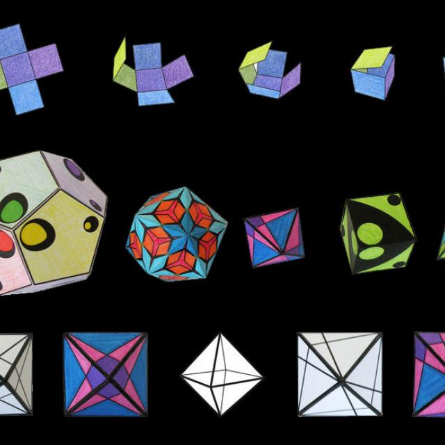 Cubes and Things: Construct Your Own Geometric Forms