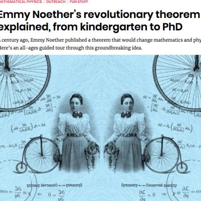 Emmy Noether's Revolutionary Theorem